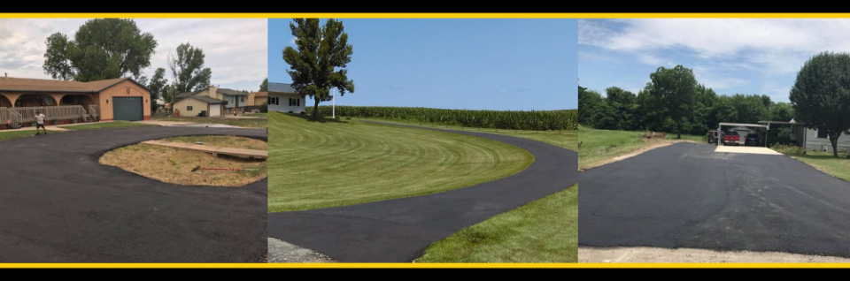 No matter the size or shape of your driveway, we can pave it!